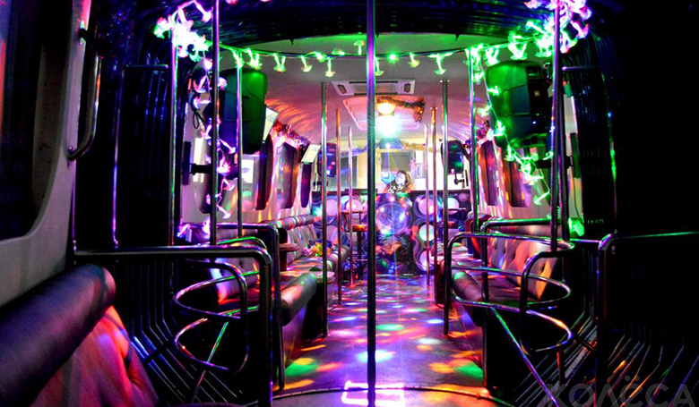 Almaty with Party Bus