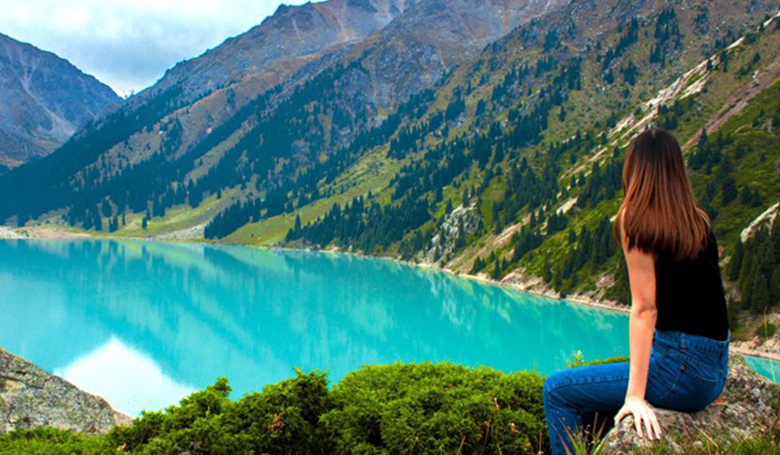 Almaty with Issyk Lake
