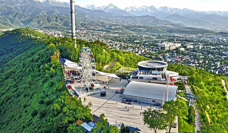 Almaty with Rifle Shooting