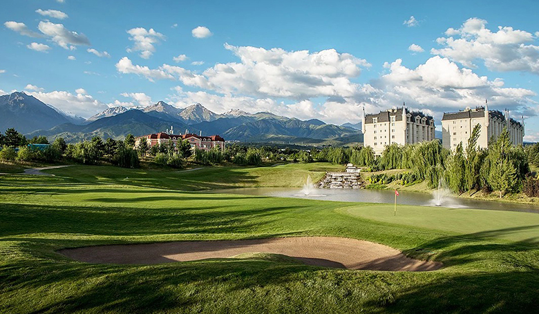 Golf in Almaty & Baku